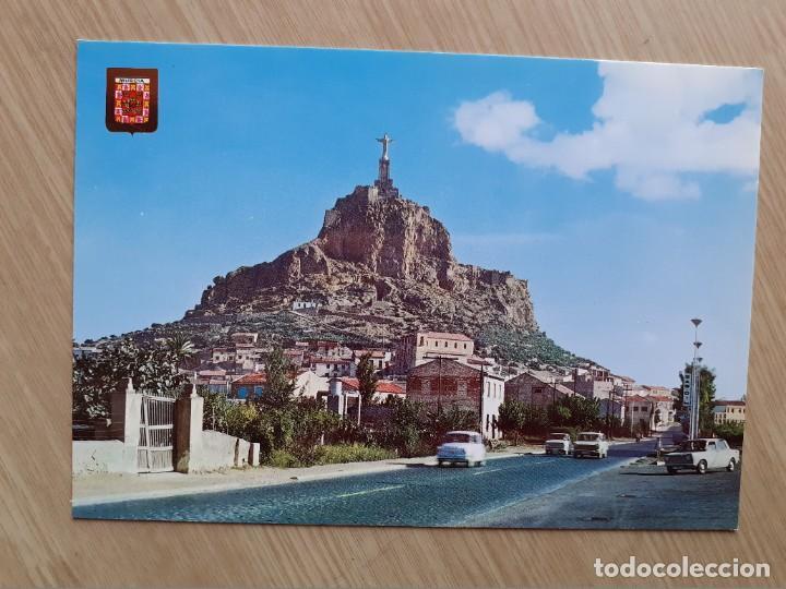 TARJETA POSTAL - MURCIA - SAGRADO CORAZON MONTEAGUDO ? 122 (Postales - España - Murcia Moderna (desde 1.940))
