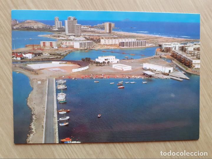 TARJETA POSTAL - LA MANGA DEL MAR MENOR - VISTA AEREA № 37 (Postales - España - Murcia Moderna (desde 1.940))