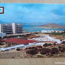 Postales: TARJETA POSTAL - CARTAGENA LA MANGA DEL MAR MENOR - CAMPO DE DEPORTES Y PLAZA DE TOROS № 35. Lote 207100145