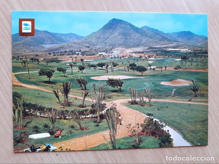 TARJETA POSTAL - CARTAGENA LA MANGA DEL MAR MENOR - CAMPO DE GOLF № 46 (Postales - España - Murcia Moderna (desde 1.940))