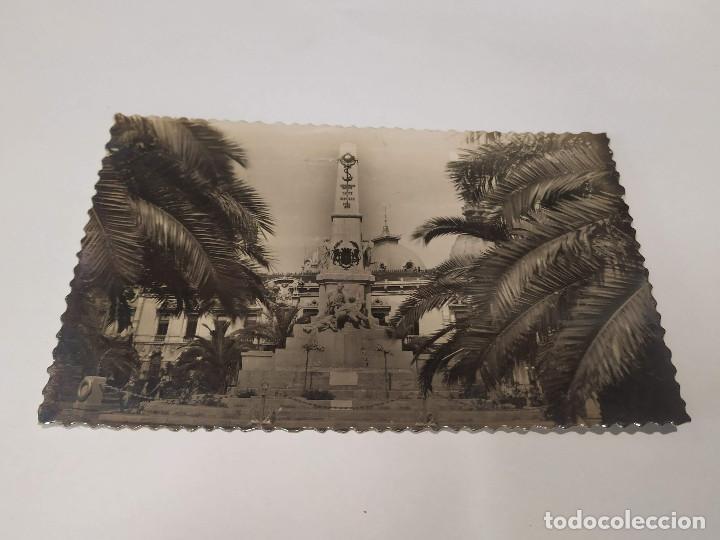 COMUNIDAD MURCIANA - POSTAL CARTAGENA - MONUMENTO A LOS HÉROES DE CAVITE (Postales - España - Murcia Moderna (desde 1.940))