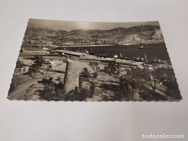 COMUNIDAD MURCIANA - POSTAL CARTAGENA - VISTA PARCIAL DEL PUERTO (Postales - España - Murcia Moderna (desde 1.940))