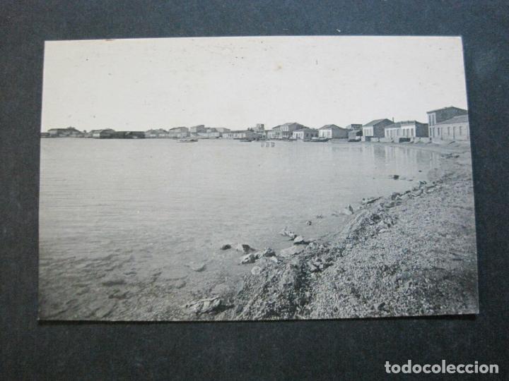 Postales: ALCAZARES-PLAYA DE PESCADORES Y AL FONDO HOTEL Y BALNEARIOS DEL MAR-ROISIN-1-POSTAL ANTIGUA-(71.382) - Foto 2 - 207872230