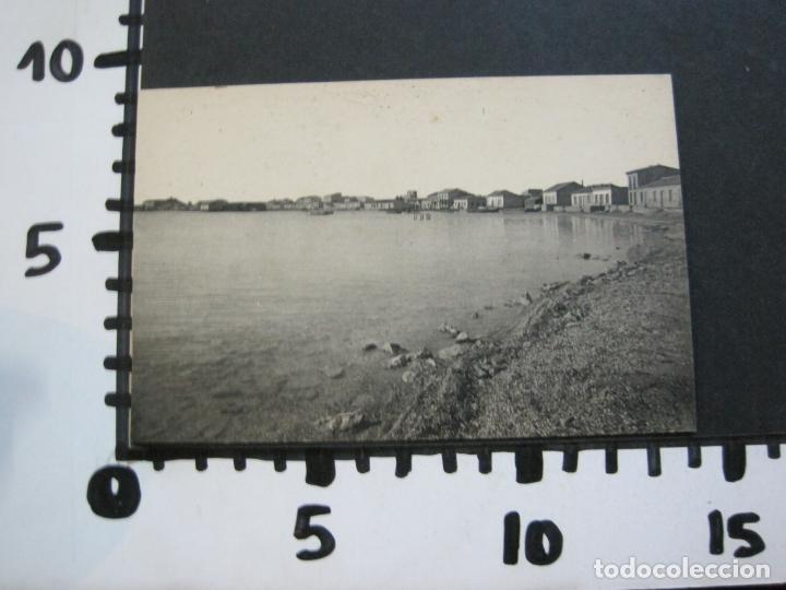 Postales: ALCAZARES-PLAYA DE PESCADORES Y AL FONDO HOTEL Y BALNEARIOS DEL MAR-ROISIN-1-POSTAL ANTIGUA-(71.382) - Foto 4 - 207872230
