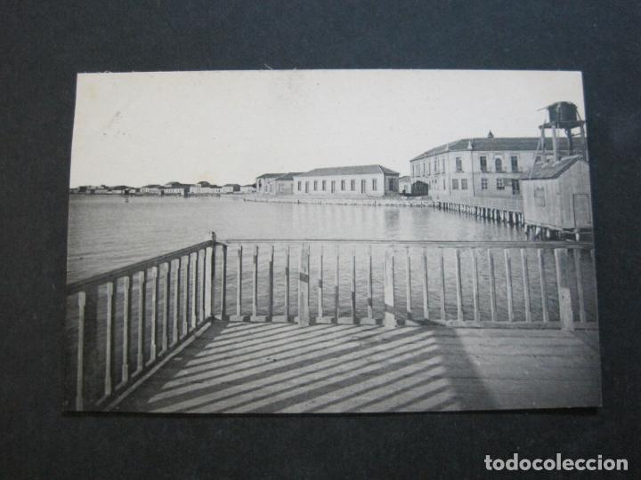 Postales: ALCAZARES-HOTEL Y PASEO DE CARRION-ROISIN-3-POSTAL ANTIGUA-(71.384) - Foto 2 - 207872411