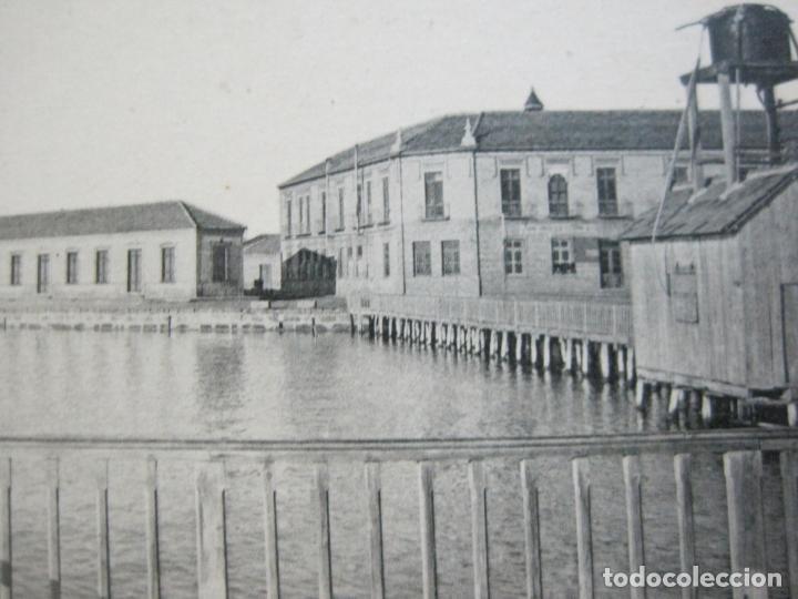 ALCAZARES-HOTEL Y PASEO DE CARRION-ROISIN-3-POSTAL ANTIGUA-(71.384) (Postales - España - Murcia Antigua (hasta 1.939))