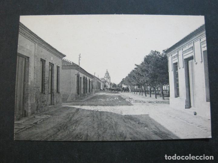 ALCAZARES-CALLE DE CARTAGENA-ROISIN-12-POSTAL ANTIGUA-(71.386) (Postales - España - Murcia Antigua (hasta 1.939))