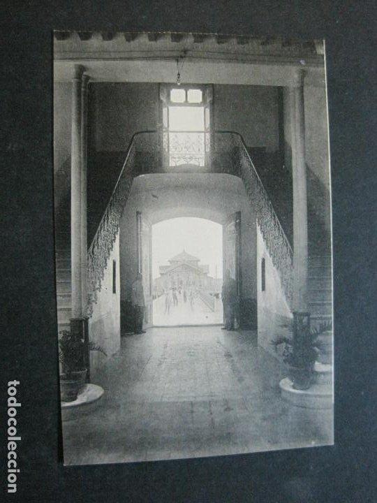 Postales: ALCAZARES-ESCALERA PRINCIPAL HOTEL ENCARNACION-ROISIN-9-POSTAL ANTIGUA-(71.387) - Foto 2 - 207872645