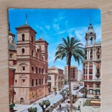 Cartes Postales: TARJETA POSTAL - MURCIA - PL. S. DOMINGO Y GRAN VIA ALFONSO X EL SABIO 2011. Lote 208038093