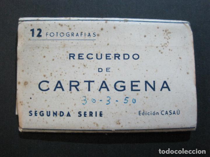 Postales: CARTAGENA-MINI BLOC CON 12 VISTAS FOTOGRAFICAS-EDICION CASAU-VER FOTOS-(V-20.624) - Foto 2 - 208299116