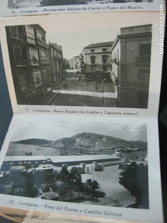 Postales: CARTAGENA-MINI BLOC CON 12 VISTAS FOTOGRAFICAS-EDICION CASAU-VER FOTOS-(V-20.624) - Foto 5 - 208299116