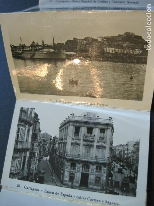 Postales: CARTAGENA-MINI BLOC CON 12 VISTAS FOTOGRAFICAS-EDICION CASAU-VER FOTOS-(V-20.624) - Foto 6 - 208299116