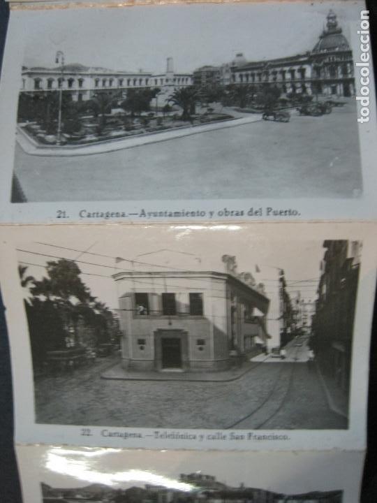 Postales: CARTAGENA-MINI BLOC CON 12 VISTAS FOTOGRAFICAS-EDICION CASAU-VER FOTOS-(V-20.624) - Foto 7 - 208299116