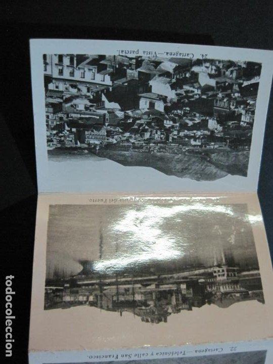 Postales: CARTAGENA-MINI BLOC CON 12 VISTAS FOTOGRAFICAS-EDICION CASAU-VER FOTOS-(V-20.624) - Foto 8 - 208299116