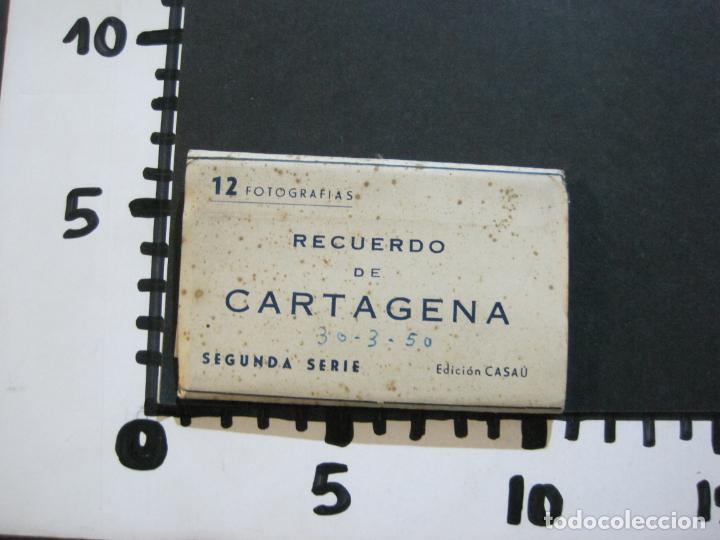 Postales: CARTAGENA-MINI BLOC CON 12 VISTAS FOTOGRAFICAS-EDICION CASAU-VER FOTOS-(V-20.624) - Foto 10 - 208299116