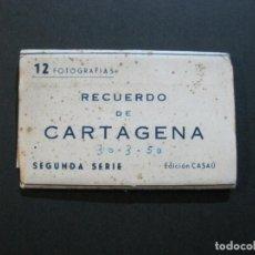 Postales: CARTAGENA-MINI BLOC CON 12 VISTAS FOTOGRAFICAS-EDICION CASAU-VER FOTOS-(V-20.624). Lote 208299116