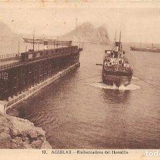 Postales: AGUILAS.- EMBARCADERO DEL HORNILLO. Lote 210012482