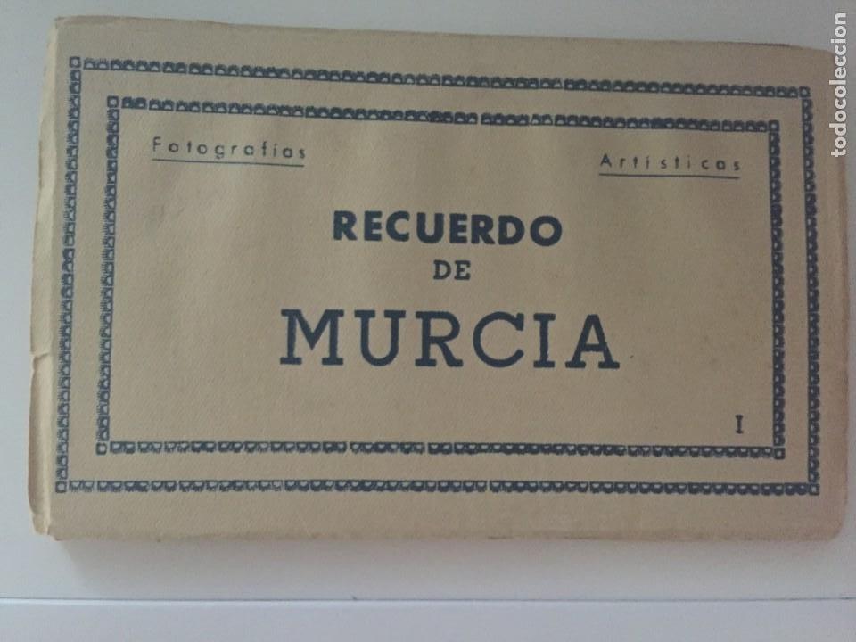MURCIA - LIBRITO 10 POSTALES COLOREADAS - ED. ARRIBAS (Postales - España - Murcia Moderna (desde 1.940))