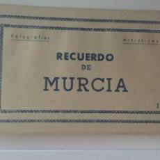 Postales: MURCIA - LIBRITO 10 POSTALES COLOREADAS - ED. ARRIBAS. Lote 210026463