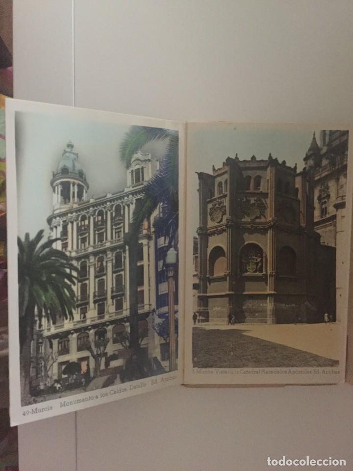 Postales: MURCIA - LIBRITO 10 POSTALES COLOREADAS - ED. ARRIBAS - Foto 4 - 210026463