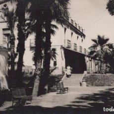 Postales: POSTAL AGUILAS - RESIDENCIA FEDERICO SERVET - OBRA SINDICAL - AULLON - MURCIA - CIRCULADA. Lote 210041291