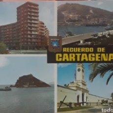 Postales: POSTAL N°73 CARTAGENA DIVERSOS ASPECTOS. Lote 210077610