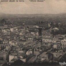 Postales: VISTA PARCIAL DESDE LA TORRE-MURCIA. Lote 210139971