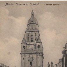 Postales: TORRE DE LA CATEDRAL-MURCIA. Lote 210140256