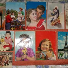 Postales: LOTE 21 POSTALES ANTIGUAS CIRCULADAS. Lote 210619070