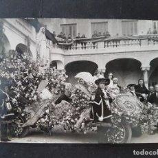 Postales: CARTAGENA MURCIA ALFONSO IZQUIERDO FOTOGRAFO POSTAL FOTOGRAFICA CARROZA CON VIRGEN. Lote 210785704