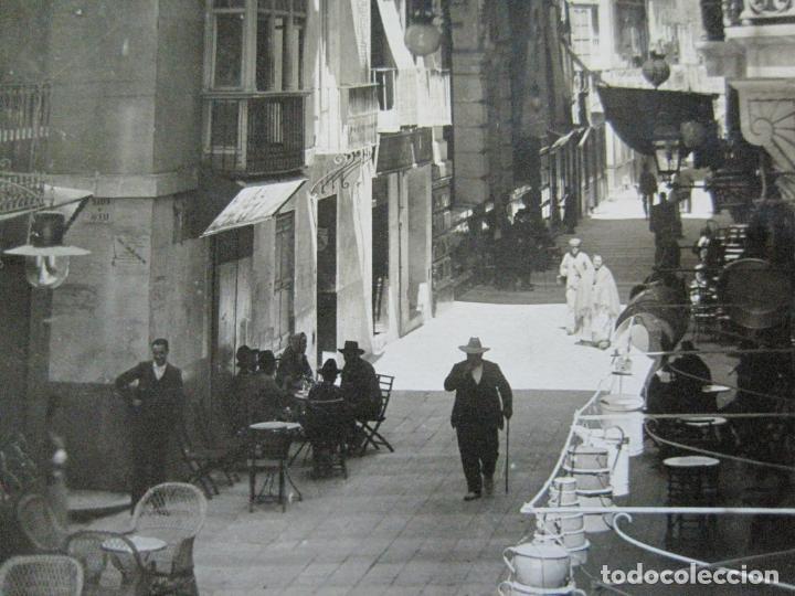 MURCIA-CALLE DEL PRINCIPE ALFONSO-ARCHIVO FOTOGRAFICA HAUSER Y MENET-POSTAL ANTIGUA-(72.695) (Postales - España - Murcia Antigua (hasta 1.939))