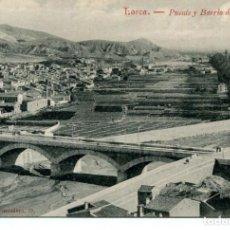 Postales: LORCA-PUENTE Y BARRIO DE S. CRISTOBAL. Lote 210965360