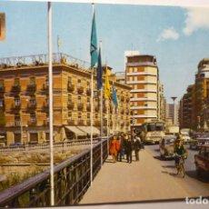 Postales: POSTAL MURCIA.- VISTA DESDE PUENTE NUEVO - COCHES. Lote 211616000