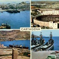 Postales: Nº 32 - CARTAGENA. DETALLES DE LA CIUDAD. SIN CIRCULAR. ED. GARCÍA GARRABELLA Y CÍA. Lote 211639698