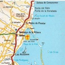 Postales: MAPA DEL MAR MENOR - 2. Lote 211642591