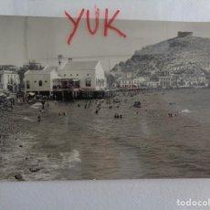 Postales: POSTAL FOTOGRAFICA AGUILAS ( MURCIA ) - PLAYA Y BALNEARIO. Lote 211650008