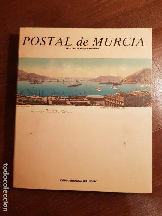 CATALOGO DE ARTE Y DOCUMENTO POSTAL DE MURCIA MERCK LUENGO EDITORA REGIONAL DE MURCIA (Postales - España - Murcia Antigua (hasta 1.939))