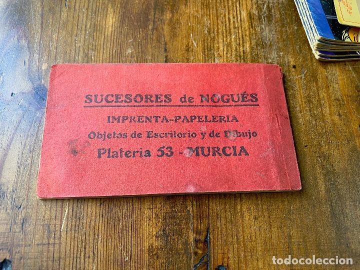 Postales: 8 POSTALES BLOC TARJETA POSTAL DE MURCIA Y SUS ALREDEDORES - SUCESORES DE NOGUES - Foto 10 - 212101658