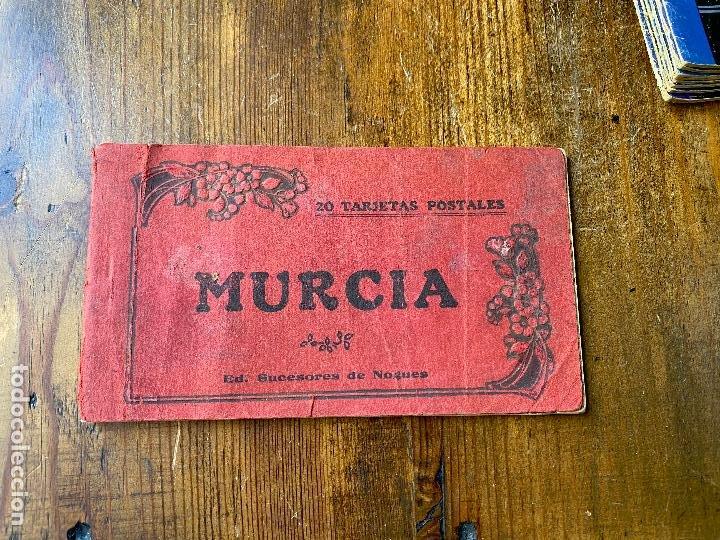 8 POSTALES BLOC TARJETA POSTAL DE MURCIA Y SUS ALREDEDORES - SUCESORES DE NOGUES (Postales - España - Murcia Antigua (hasta 1.939))