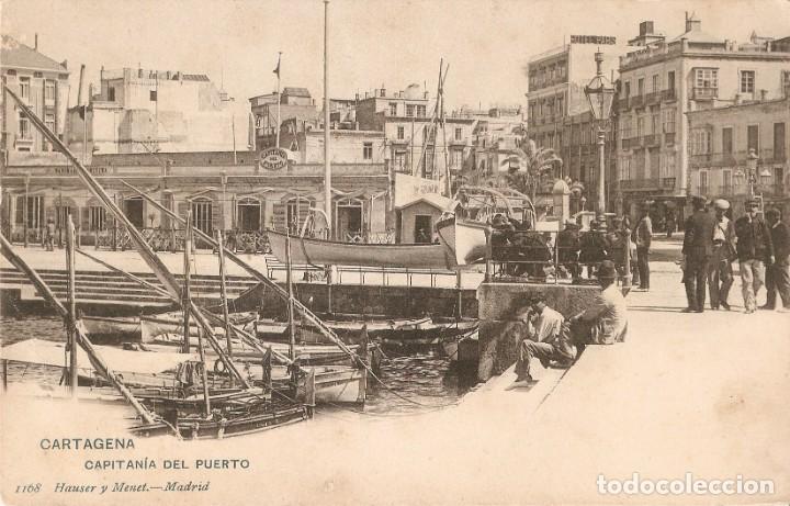 CARTAGENA Nº 1168 CAPITANÍA DEL PUERTO H.Y.M. S.C. (Postales - España - Murcia Antigua (hasta 1.939))