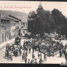 Postales: POSTAL DE CIEZA - PLAZA DEL CANÓNIGO MARTINEZ.. Lote 213977960