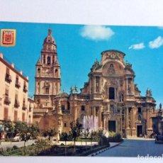 Postales: POSTAL MURCIA PLAZA DEL CARDENAL BELLUGA. Lote 214078670
