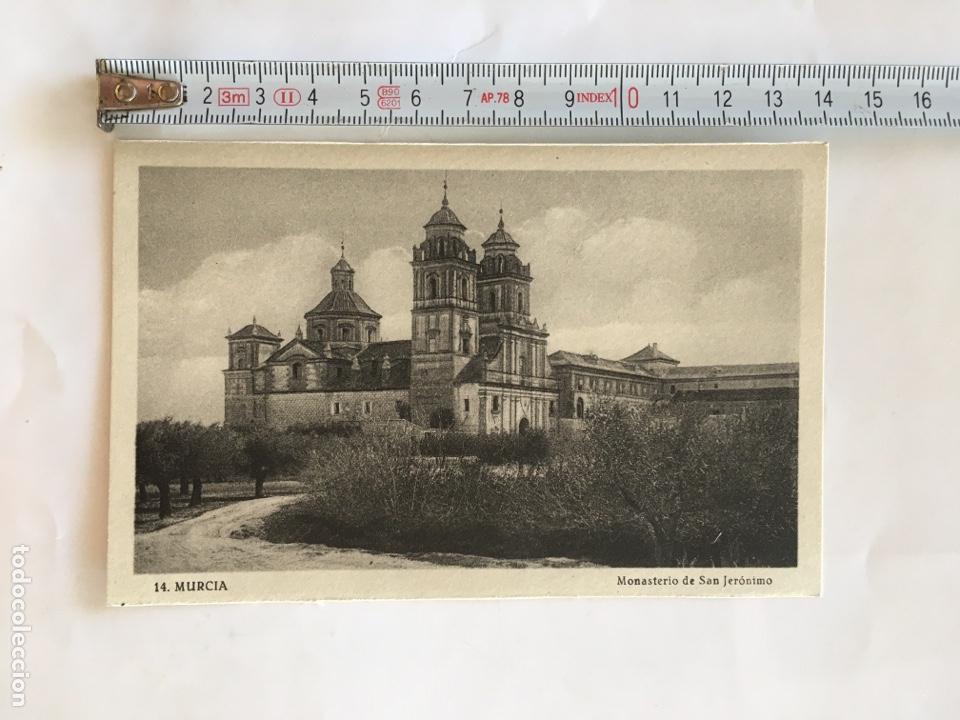 POSTAL. MURCIA. MONASTERIO DE SAN JERÓNIMO. EDICION SUCESORES DE NOGUES. (Postales - España - Murcia Moderna (desde 1.940))