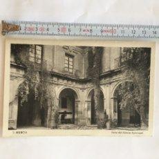 Postales: POSTAL. MURCIA. PATIO DEL PALACIO EPISCOPAL. EDICION SUCESORES DE NOGUES.. Lote 214246427