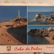 Postales: POSTAL CABO DE PALAOS - COSTA CALIDA - ESCUDO DE ORO Nº 24. Lote 215774078