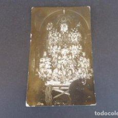 Postales: CARTAGENA MURCIA SEMANA SANTA PASO VIRGEN POSTAL FOTOGRAFICA 1924 CASAÚ FOTOGRAFO. Lote 215991626