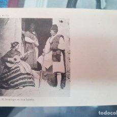 Postales: ANTIGUA POSTAL MURCIA EL DOMINGO EN UNA HUERTA LAURENT SERIE B 72. Lote 217693282