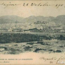 Postales: CARTAGENA. VISTA DESDE EL BARRIO DE LA CONCEPCIÓN. Nº 1167, HAUSER Y MENET. CIRCULADA 1903. Lote 218357798