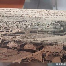 Postales: ANTIGUA POSTAL PUENTE Y BARRIO DE SAN CRISTOBAL LORCA MURCIA DIARIO DE AVISOS 1909. Lote 218371945