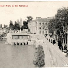 Postales: BONITA POSTAL - MURCIA - MOLINO Y PLANO DE SAN FRANCISCO. Lote 218762197
